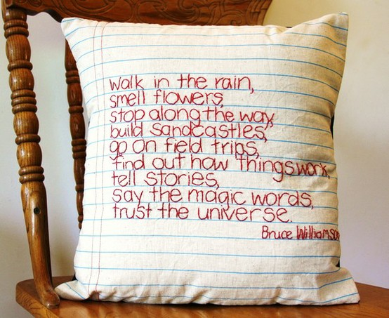 Creative Ways To Display Quotes: My Favourite 10: Ways To Display Creative Words